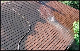 Apartment Complex Cleaning Roof